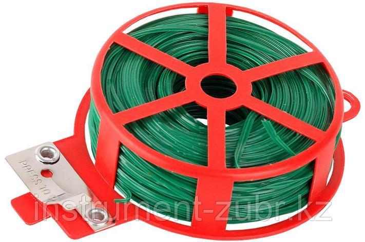 Проволока GRINDA подвязочная декоративная для кустарников, 20м                                                                                        , фото 2