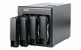 QNAP TS-431X2-8G Сетевой RAID-накопитель, 4 отсека для HDD, 10 GbE SFP+. ARM Cortex-A15 Annapurna Labs AL-212, фото 3