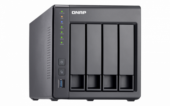 QNAP TS-431X2-8G Сетевой RAID-накопитель, 4 отсека для HDD, 10 GbE SFP+. ARM Cortex-A15 Annapurna Labs AL-212