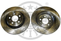 Тормозные диски Volvo XC90 (02-..., задние, Optimal, объем - 2.5л,3.2л)