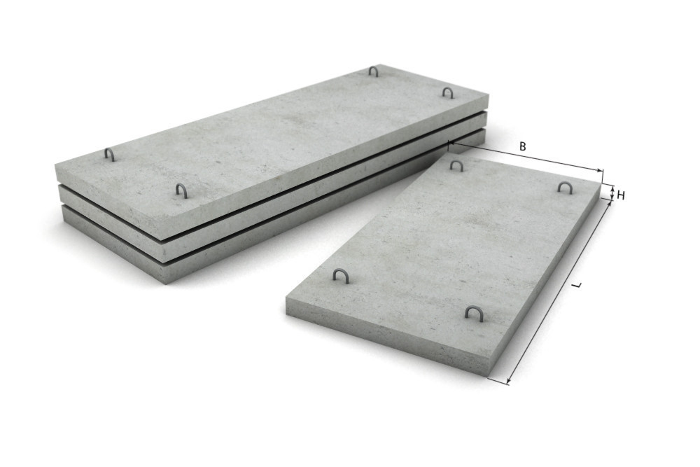 Плита покрытия ПТ 300.120.12-1.5