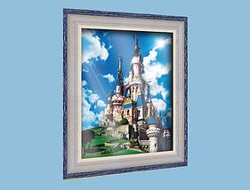 """Объемный постер """"Замок принцессы"""""""