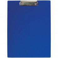 Планшет с зажимом OfficeSpace пластик синий А4