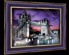 """Объемный постер """"Лондонский мост"""""""
