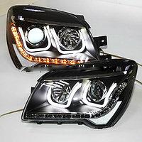 Передние фары LED Head Lamp Angel Eyes 2010 U Type