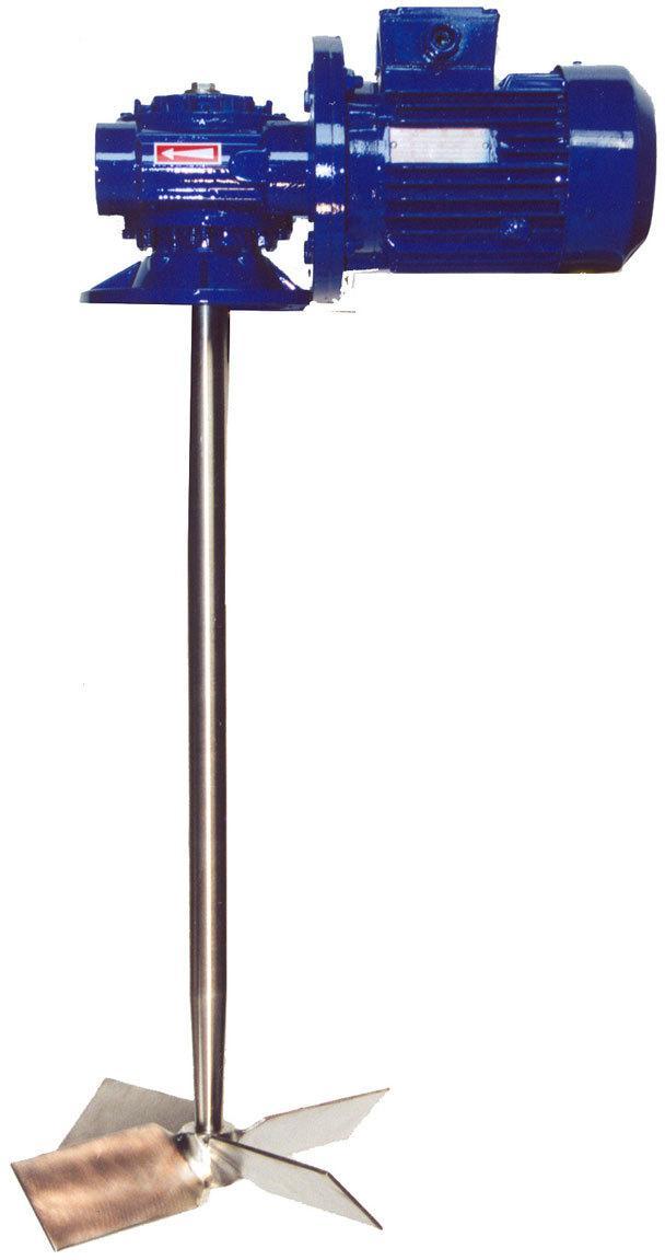 Смеситель-мешалка ПВХ, 600 мм, 1400об/мин. (бак 100л)