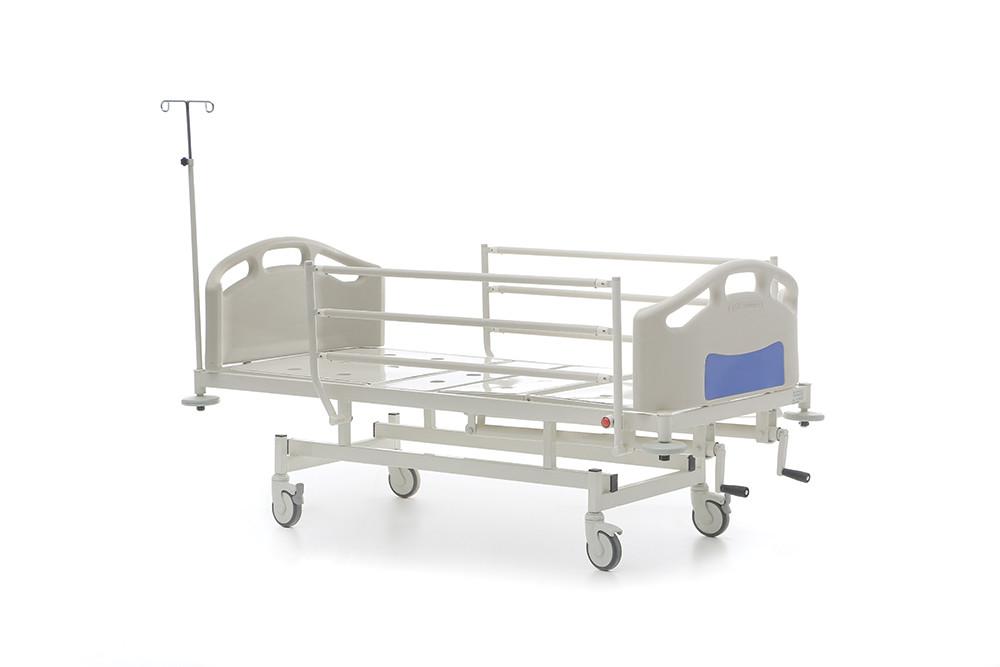 Механическая медицинская кровать 2-х секционная HKM-PB10