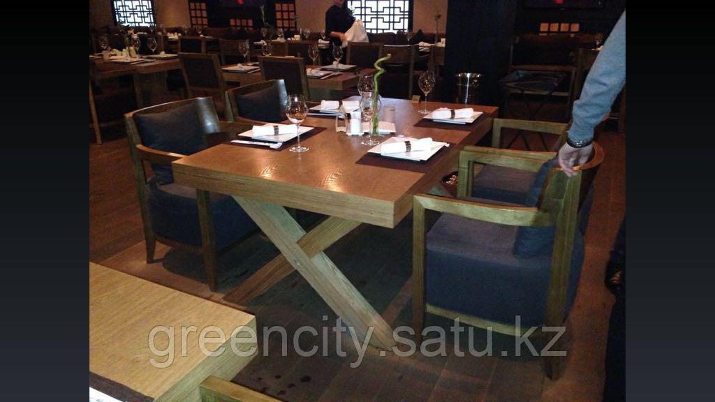 Столы из натурального дерева, изготовление столов - фото 4