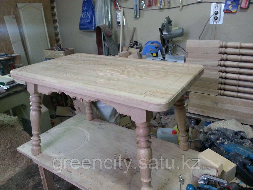 Столы из натурального дерева, изготовление столов - фото 2