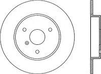 Тормозные диски Smart ForTwo, City объем 0.6, 0.7, 0.8, 1.0 (передние, Optimal)
