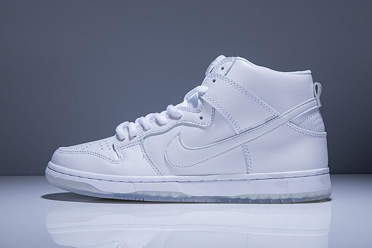 Nike Dunk High Pro SB White Ice