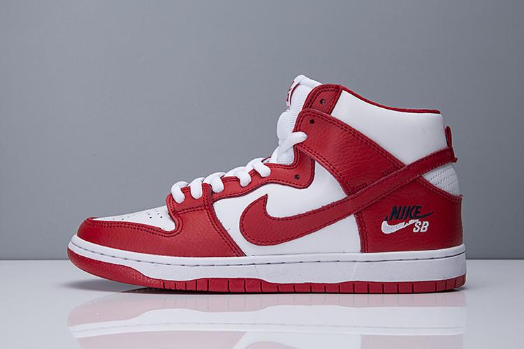 "Nike SB Zoom Dunk Hi Pro ""University Red"""