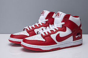 "Nike SB Zoom Dunk Hi Pro ""University Red"", фото 2"
