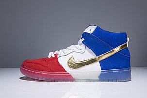 Nike SB Dunk High PREM Tricolor, фото 2