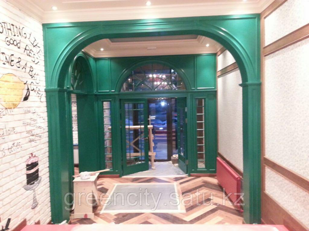 Двери из натурального дерева, изготовление дверей - фото 4