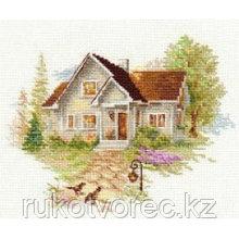 """Набор для вышивания крестиком Алиса """"Июльский домик"""""""