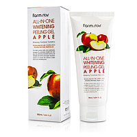 Farm Stay All-In -One Whitening Peeling Gel Cream Aplle-Пилинг Гель для лица на основе ЯБЛОКА