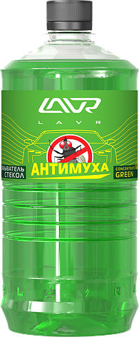 "Омыватель стекол концентрат ""Анти Муха"" Green LAVR Glass Washer Concentrate Anti Fly 1000мл, фото 2"