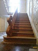 Лестницы из натурального дерева, изготовление лестниц