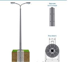 Опоры освещения силовые ОГС 8, 9, 10 метров (силовая граненая опора)
