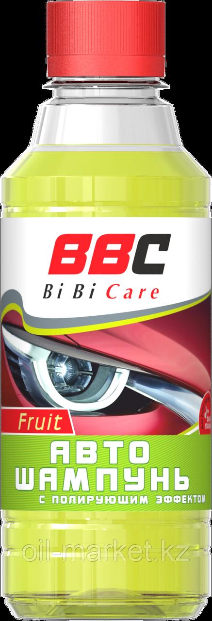 Автошампунь с полирующим эффектом Фруктовый BiBiCare 280 мл