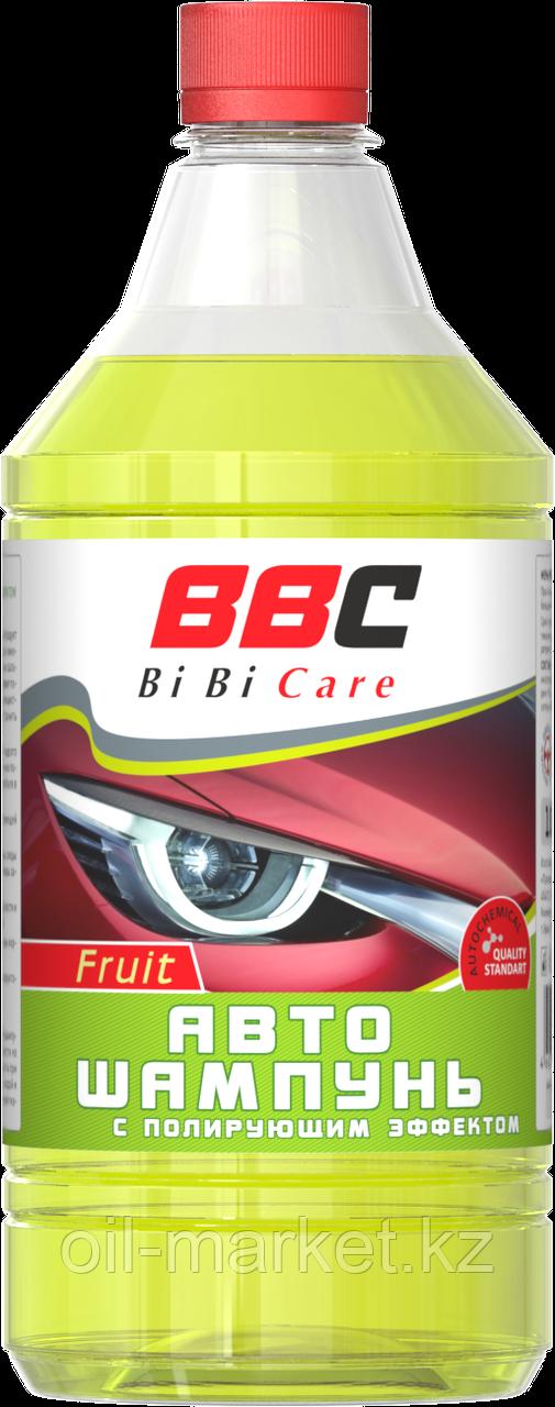 Автошампунь с полирующим эффектом фруктовый BiBiCare 1000 мл