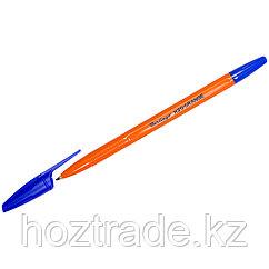 Ручка шариковая Berlingo H-20 Orange. синяя 1,0 мм