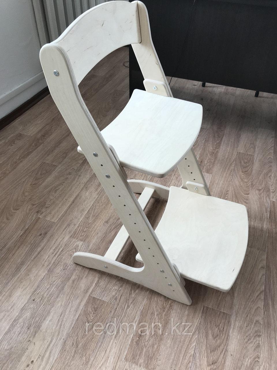 Растущий стул, ортопедический стул, детский стул (береза)