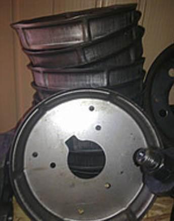 Колесо крн 46.090 (полудиск), фото 2