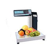 Весы регистраторы с печатью этикеток НПВ MK R2L10 1 на 6кг, 15кг,32 кг (2 дисплея)