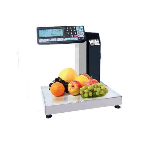 Весы регистраторы с печатью этикеток НПВ MK R2L10 1 на 6кг, 15кг,32 кг (2 дисплея), фото 2