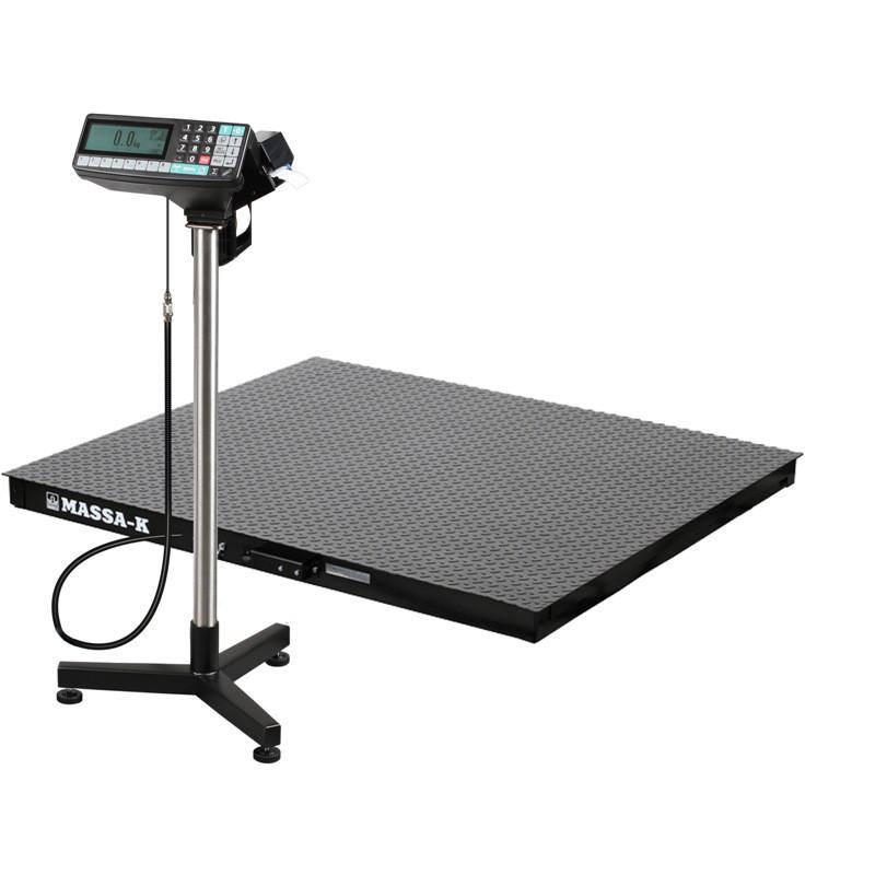 Весы регистраторы платформенные с печатью этикеток 4D PM 1_RP c НПВ на 500кг, 1000кг