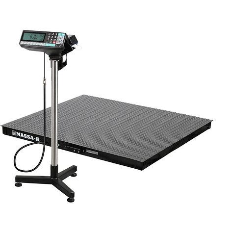 Весы регистраторы платформенные с печатью этикеток 4D PM 1_RP c НПВ на 500кг, 1000кг, фото 2
