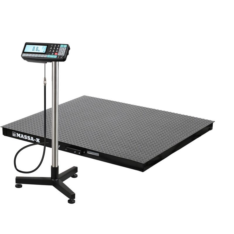 Весы регистраторы платформенные 4D PM 1_RA с НПВ на 500кг, 1000кг