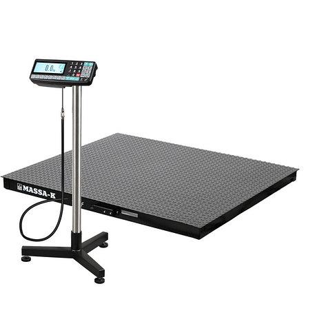 Весы регистраторы платформенные 4D PM 1_RA с НПВ на 500кг, 1000кг, фото 2