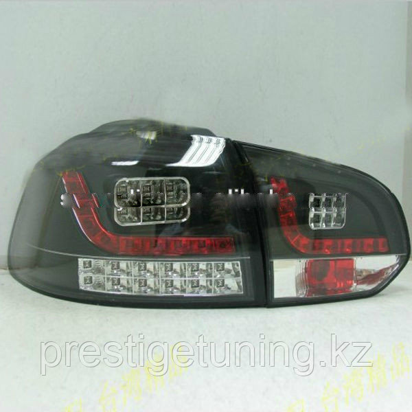 Задние фары Golf 6 Cover Chrome Type 1