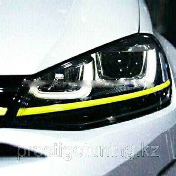 Передние фары Golf 7 Angel Eyes 2013-2014 Type 1