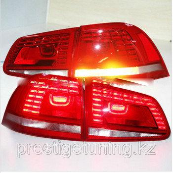 Задние фары Touareg Red Color 2011- 2014 Type 1