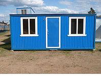 Бытовка (контейнер, строительный вагончик) 7 метров, утепленная. Алматы.