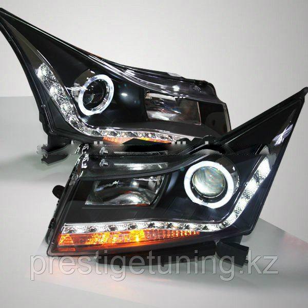 Передние фары на Cruze Angel Eyes Type 6 2009-2011