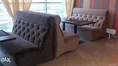 Изготовление мягкой мебели и диванов для кафе, ресторанов, баров