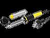 Паяльник PROTerm с двухком. рукояткой, в комплекте с припоем и подставкой, жало-клин,STAYER Professional 100Вт