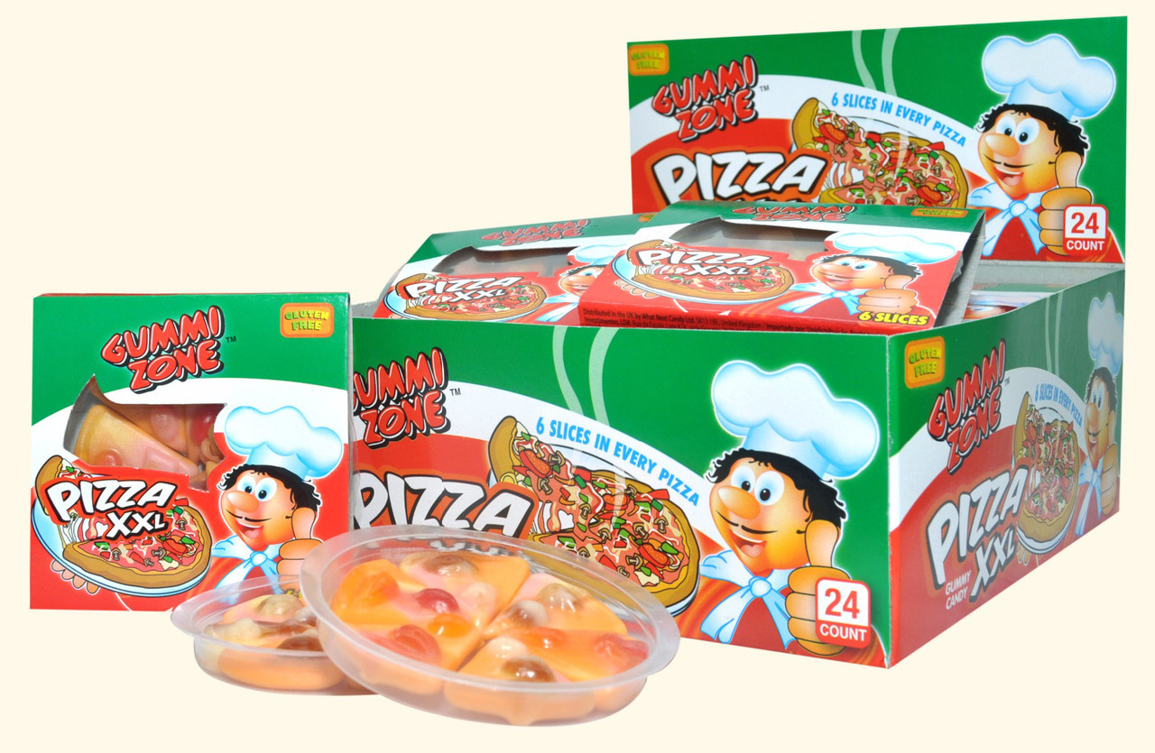 Мармелад Большая Пицца Pizza XXL 6 кусков 23гр (24шт - упак)