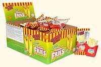 Мармелад Картошка фри French Fries 20гр.  (36шт-упак) /gummi zone/