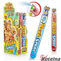 JOHNY BEE® XXXL Spray, кислый спрей, 3 вкуса в блоке, 105 мл, 12 шт в шоубоксе /8 шоубоксов в коробе.