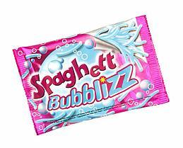 Жевательная резинка Spaghett Bubblizz 35гр Франция (24шт-упак) Tubble gum