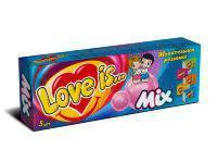 Жевательная резинка Love is Микс 5 в упаковке 21 грамм