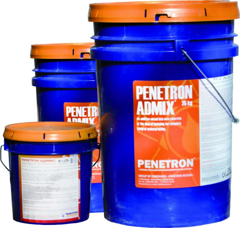 Гидроизоляционная добавка «Пенетрон Адмикс»