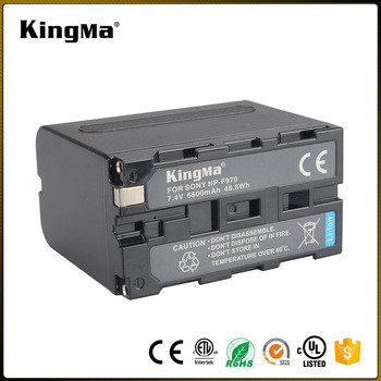 NP-F970. Увеличенный аккумулятор KingMa для фото/видео Sony 8190мАч