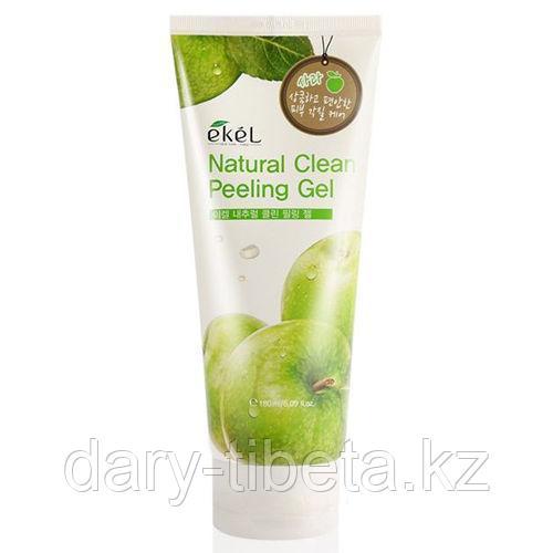 EKEL APPLE NATURAL CLEAN PEELING GEL-Пилинг -Скатка с экстрактом Зеленого яблока